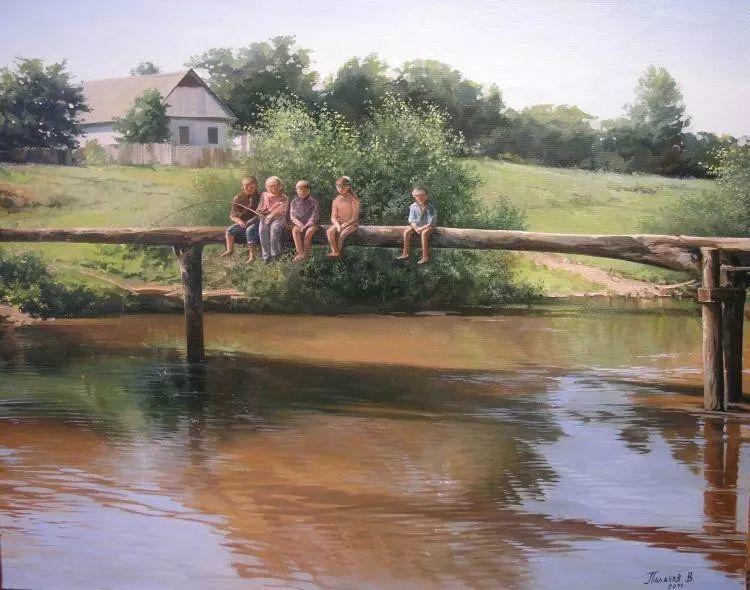 俄罗斯田园油画欣赏插图7