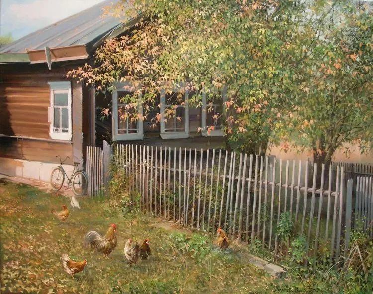 俄罗斯田园油画欣赏插图9
