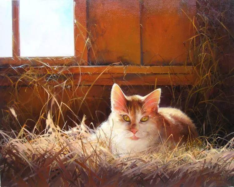 俄罗斯田园油画欣赏插图15