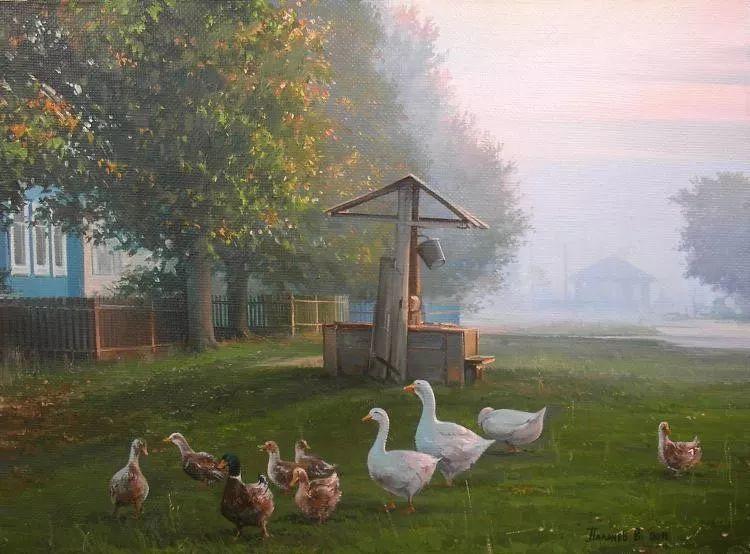 俄罗斯田园油画欣赏插图17