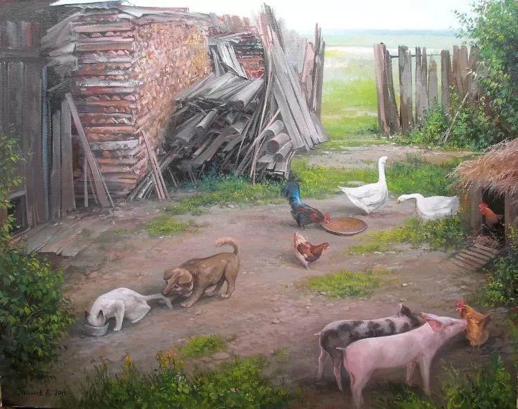 俄罗斯田园油画欣赏插图27
