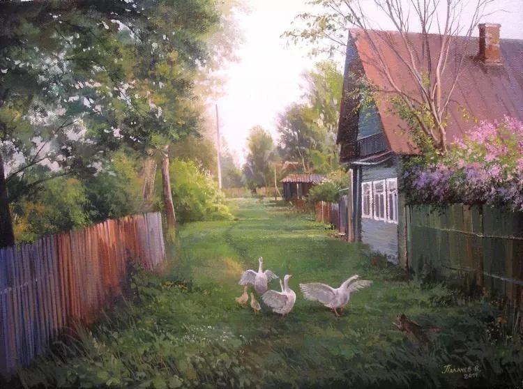 俄罗斯田园油画欣赏插图29