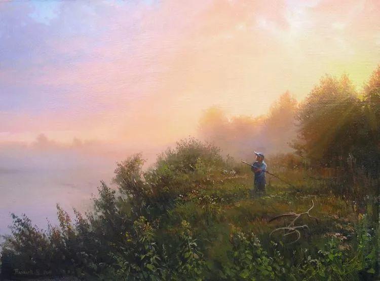 俄罗斯田园油画欣赏插图31