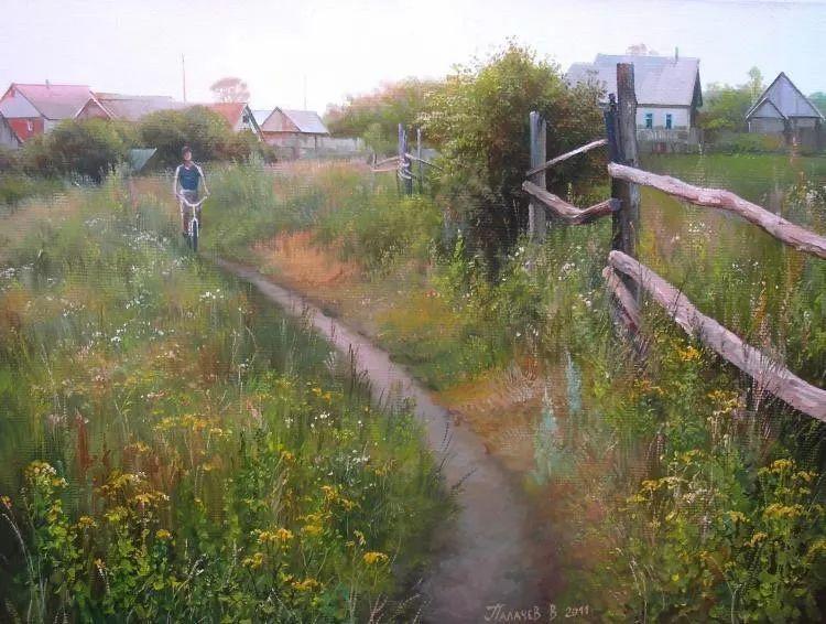 俄罗斯田园油画欣赏插图33