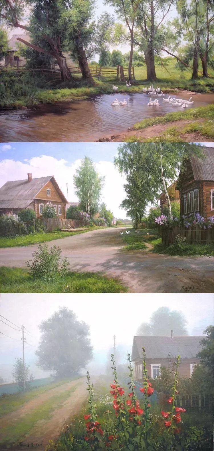 俄罗斯田园油画欣赏插图35