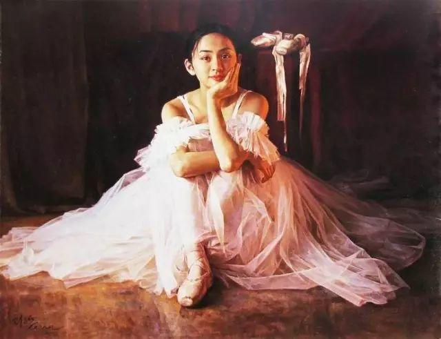 中国也有位执迷于画芭蕾舞女的画家插图