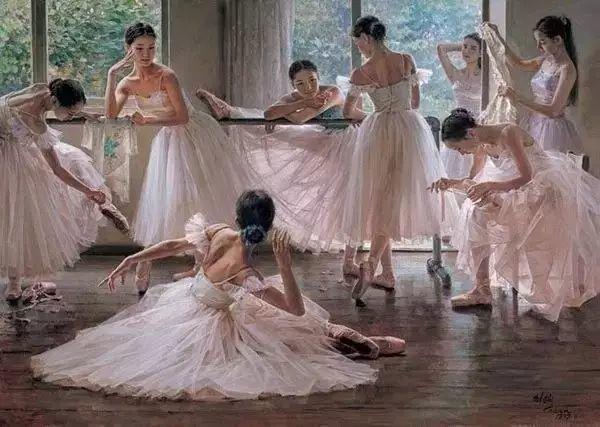 中国也有位执迷于画芭蕾舞女的画家插图1
