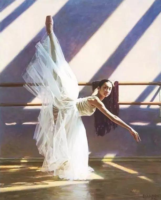中国也有位执迷于画芭蕾舞女的画家插图3