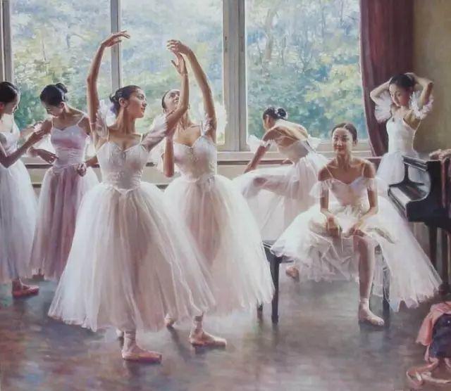中国也有位执迷于画芭蕾舞女的画家插图4