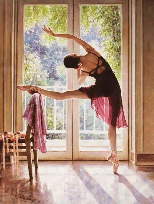 中国也有位执迷于画芭蕾舞女的画家插图5