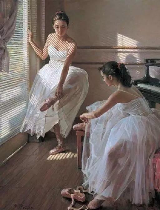 中国也有位执迷于画芭蕾舞女的画家插图6