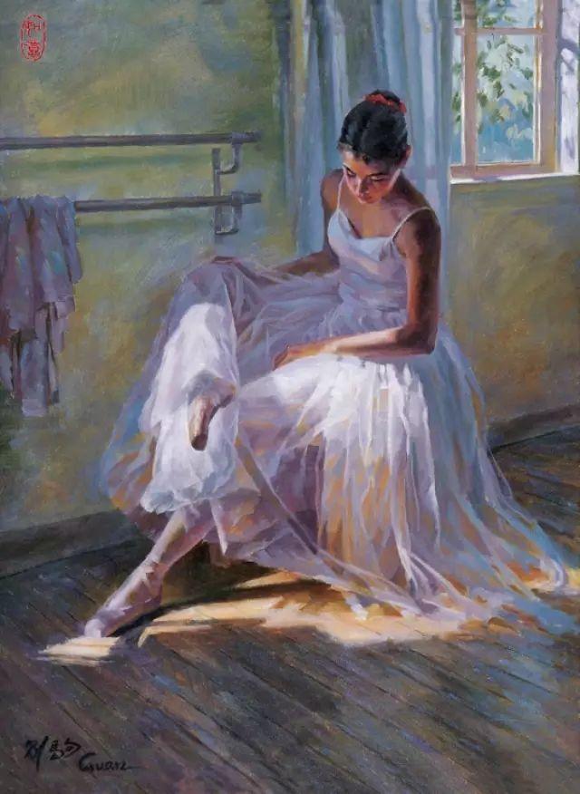 中国也有位执迷于画芭蕾舞女的画家插图9
