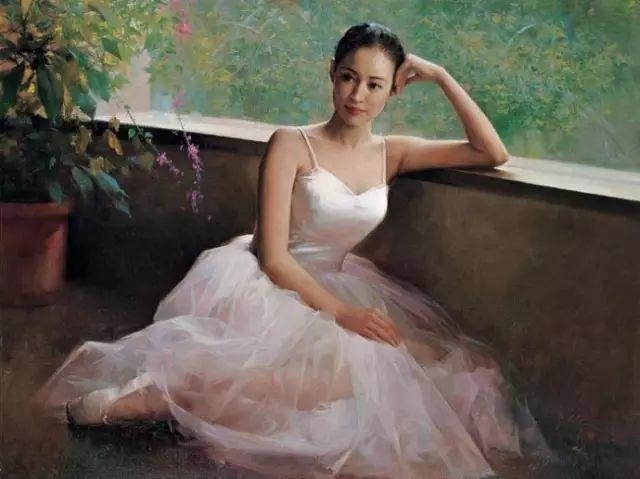 中国也有位执迷于画芭蕾舞女的画家插图10