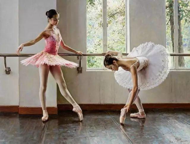 中国也有位执迷于画芭蕾舞女的画家插图11