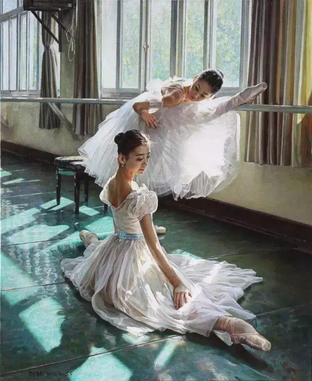 中国也有位执迷于画芭蕾舞女的画家插图12