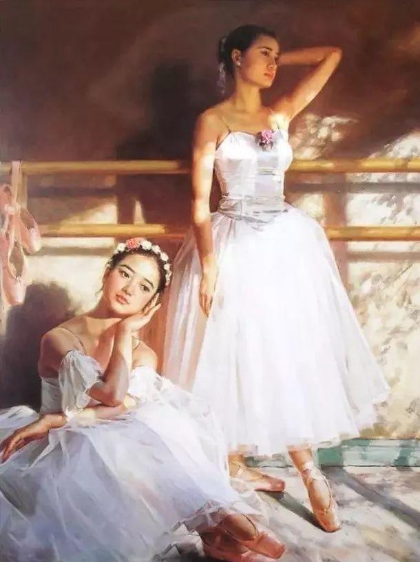中国也有位执迷于画芭蕾舞女的画家插图14