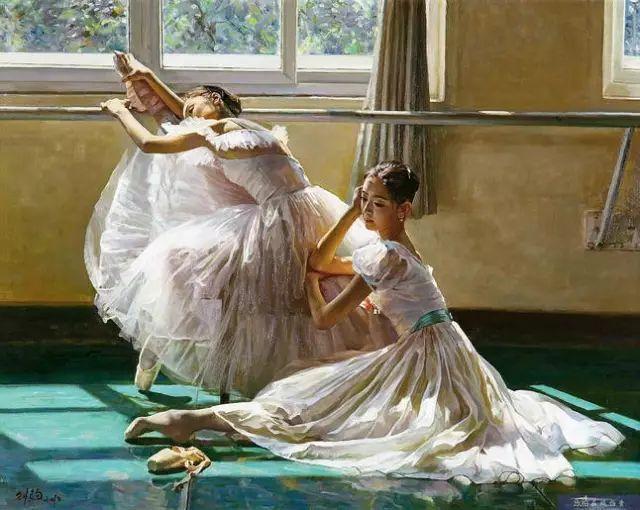 中国也有位执迷于画芭蕾舞女的画家插图15