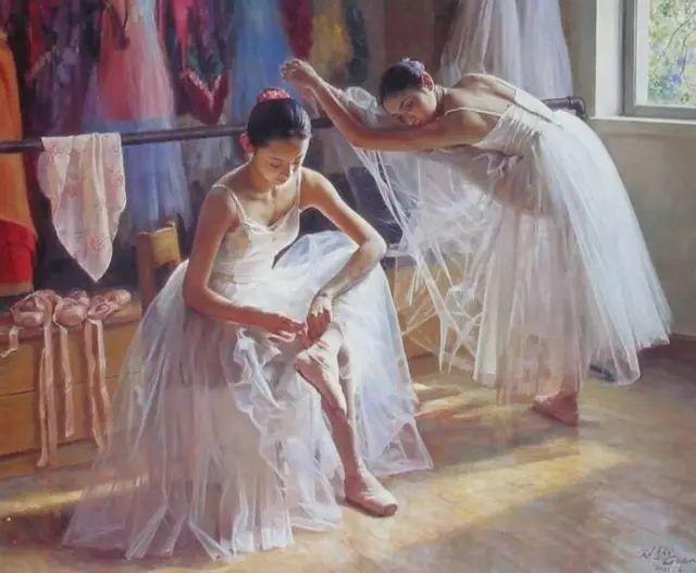 中国也有位执迷于画芭蕾舞女的画家插图16