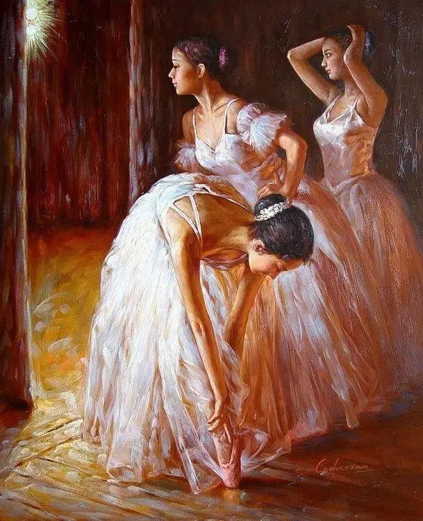 中国也有位执迷于画芭蕾舞女的画家插图20