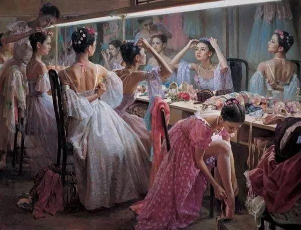 中国也有位执迷于画芭蕾舞女的画家插图21