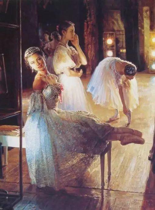 中国也有位执迷于画芭蕾舞女的画家插图22