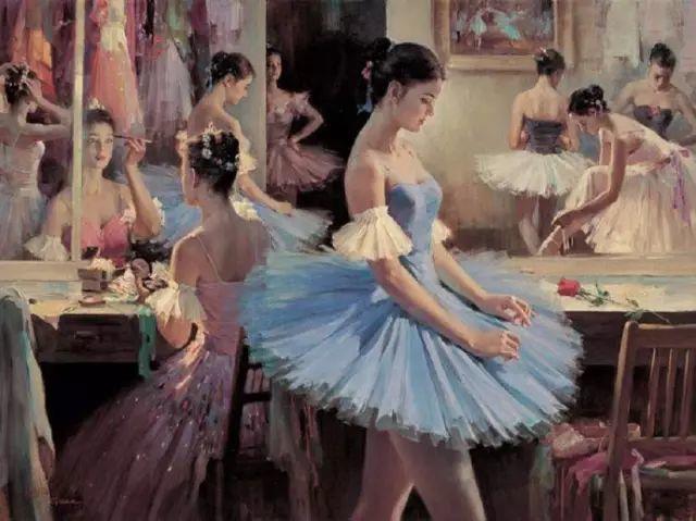 中国也有位执迷于画芭蕾舞女的画家插图23