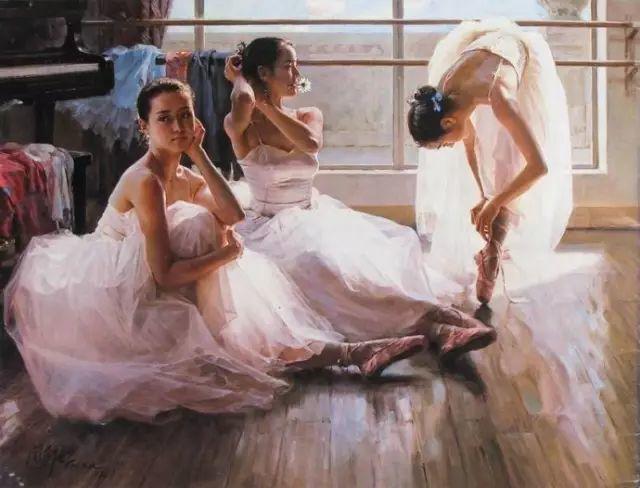 中国也有位执迷于画芭蕾舞女的画家插图24