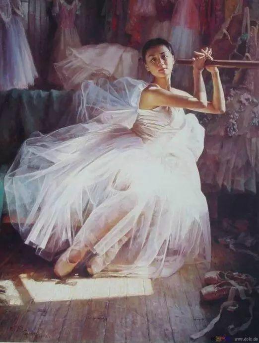 中国也有位执迷于画芭蕾舞女的画家插图26
