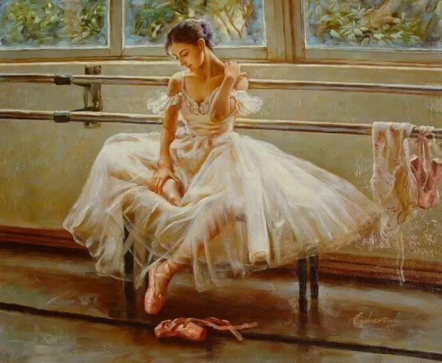 中国也有位执迷于画芭蕾舞女的画家插图27