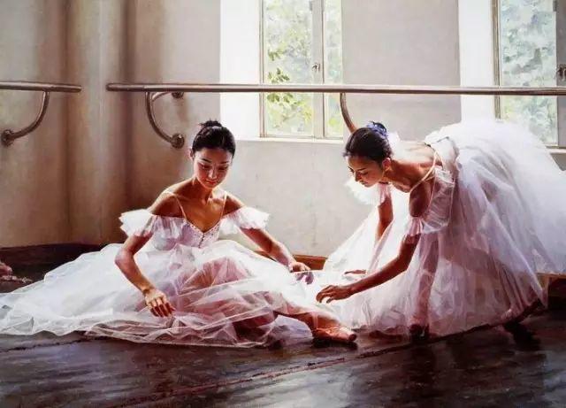 中国也有位执迷于画芭蕾舞女的画家插图28