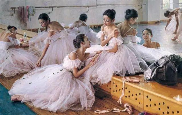 中国也有位执迷于画芭蕾舞女的画家插图29