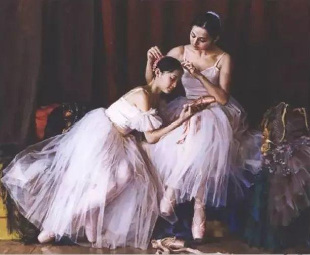 中国也有位执迷于画芭蕾舞女的画家插图31