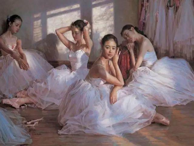 中国也有位执迷于画芭蕾舞女的画家插图33