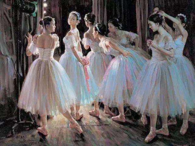 中国也有位执迷于画芭蕾舞女的画家插图34