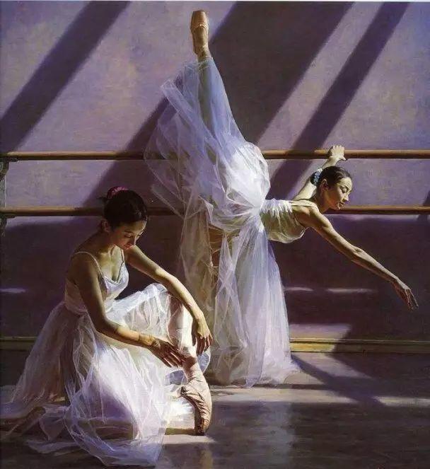 中国也有位执迷于画芭蕾舞女的画家插图35