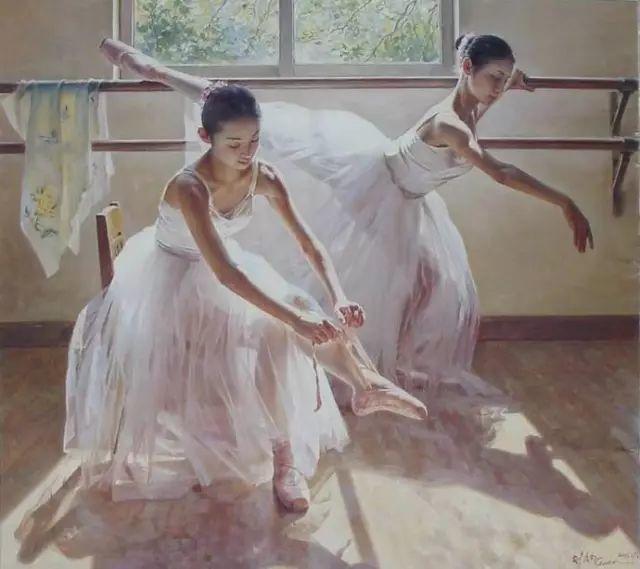 中国也有位执迷于画芭蕾舞女的画家插图36