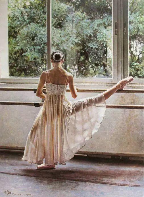 中国也有位执迷于画芭蕾舞女的画家插图37