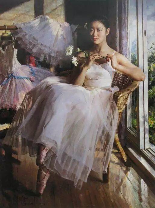 中国也有位执迷于画芭蕾舞女的画家插图40