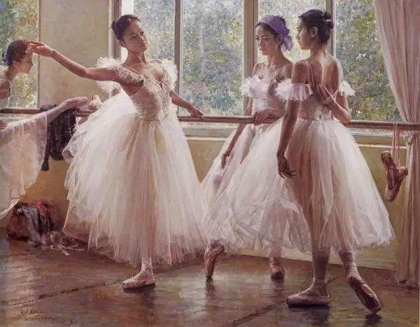 中国也有位执迷于画芭蕾舞女的画家插图41