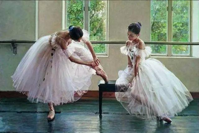 中国也有位执迷于画芭蕾舞女的画家插图42