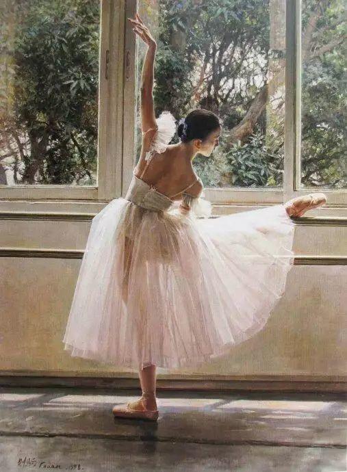 中国也有位执迷于画芭蕾舞女的画家插图43