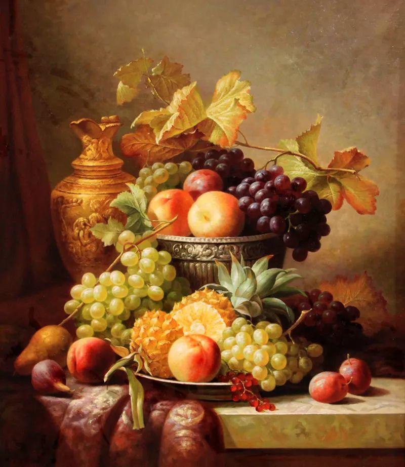 中外关于葡萄题材的绘画插图2