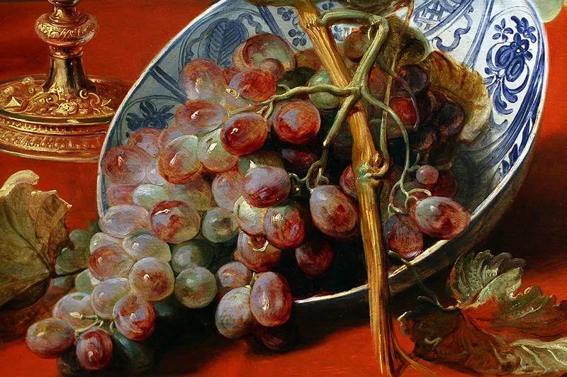 中外关于葡萄题材的绘画插图9
