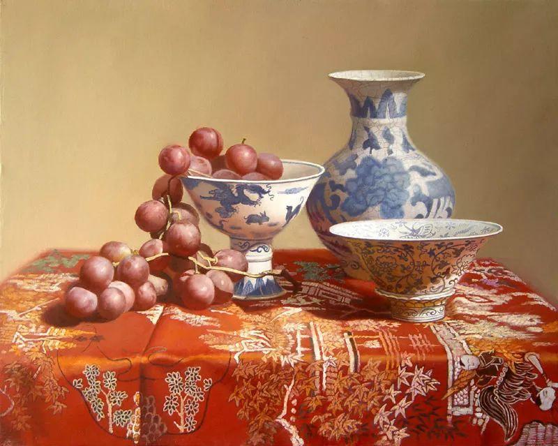 中外关于葡萄题材的绘画插图11