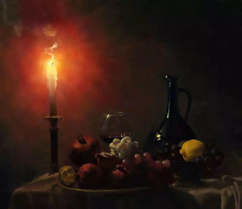 中外关于葡萄题材的绘画插图12