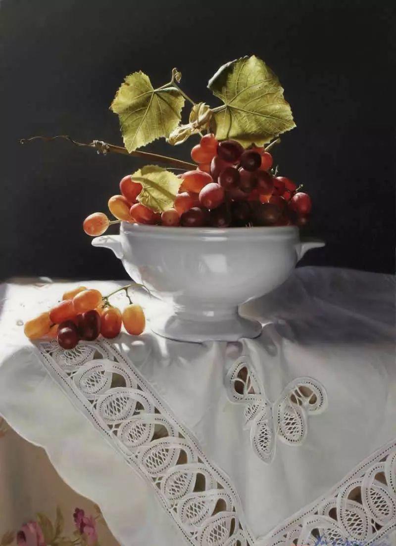 中外关于葡萄题材的绘画插图13