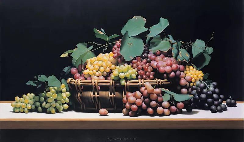 中外关于葡萄题材的绘画插图14