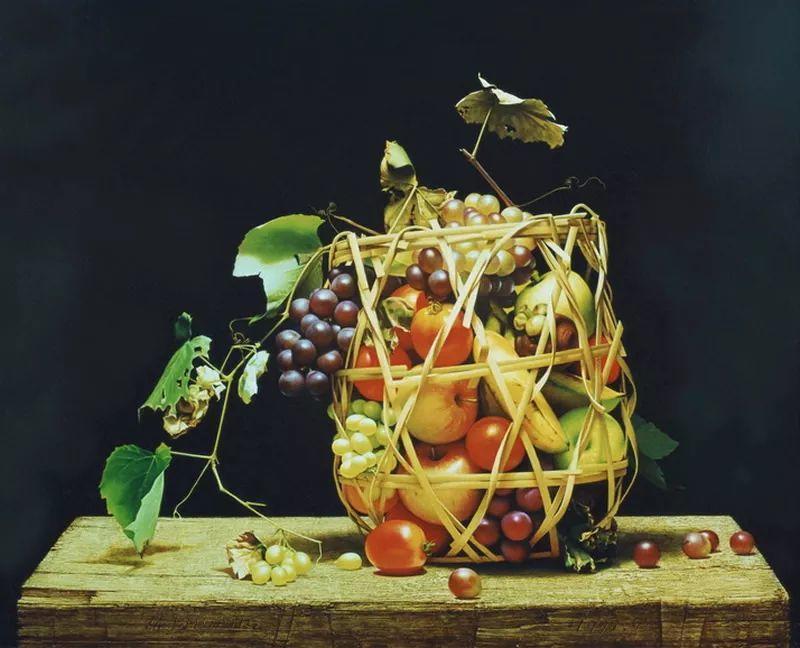 中外关于葡萄题材的绘画插图15