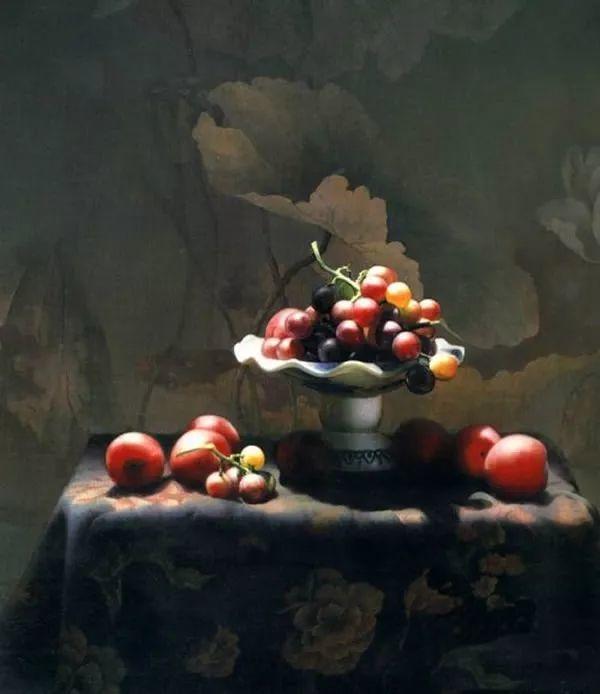 中外关于葡萄题材的绘画插图17