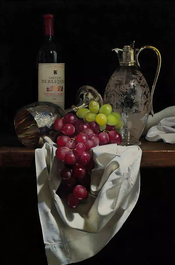 中外关于葡萄题材的绘画插图19